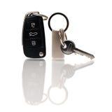 De sleutels van de auto en van het huis Royalty-vrije Stock Foto's