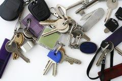 De sleutels van de bos Stock Afbeelding