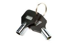 De sleutels van de computer. royalty-vrije stock afbeeldingen