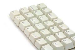 De sleutels van de computer Royalty-vrije Stock Afbeeldingen