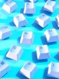 De Sleutels van de computer Stock Foto