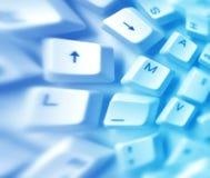 Computersleutels stock afbeeldingen