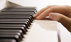 De sleutels van de muziek royalty-vrije stock fotografie