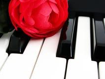 De sleutels van de muziek royalty-vrije stock foto's