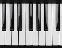 De sleutels van de piano Royalty-vrije Stock Afbeeldingen