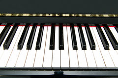 De sleutels van de piano Stock Afbeelding