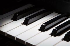 De sleutels van de piano royalty-vrije stock afbeelding