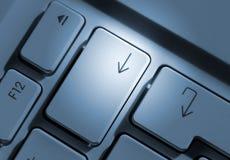 De sleutels van de pijl Stock Afbeelding