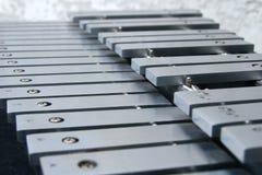 De sleutels van de xylofoon Royalty-vrije Stock Foto's
