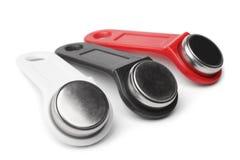 De sleutels van het aanrakingsgeheugen stock fotografie