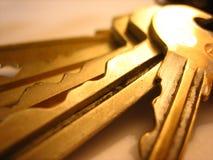 De Sleutels van het bureau Stock Afbeeldingen