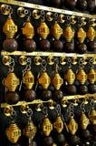 De sleutels van het hotel Stock Foto's