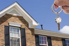 De sleutels van het huis Stock Afbeeldingen