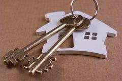 De sleutels van het huis Stock Foto