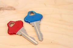 De sleutels van het huis Stock Foto's