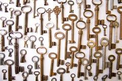 De sleutels van het metaal Royalty-vrije Stock Foto