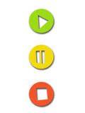 De sleutels van het spel Stock Foto
