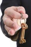 De sleutels van het succes Royalty-vrije Stock Foto's