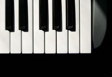 De Sleutels van MIDI Stock Foto's