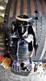 De slijtage van het samoeraienpantser door oude Japanse militair royalty-vrije stock foto