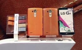 De slimme telefoon van LG gr. Stock Fotografie