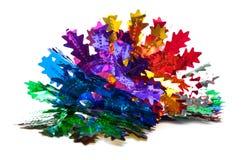 De slinger van de Kerstmisdecoratie van folie Royalty-vrije Stock Foto's