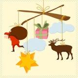 De slinger van het nieuwjaar Stock Foto