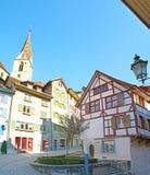 De slingriga kullarna av Bern Royaltyfria Bilder