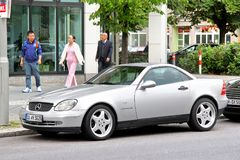 De slk-Klasse van Mercedes-Benz R170 Stock Fotografie