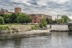 De sloten van het Lachinekanaal Royalty-vrije Stock Foto's