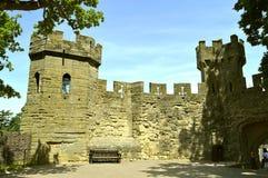 De Sluisdeurtoren van het Warwickkasteel royalty-vrije stock afbeelding