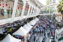 De sluiting 2014 van Bangkok Stock Foto