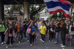 De Sluiting van Bangkok: 14 januari, 2014 Royalty-vrije Stock Afbeeldingen