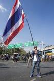 De Sluiting van Bangkok: 13 januari, 2014 Royalty-vrije Stock Fotografie