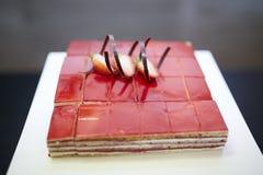De smaak van de het Dessertlijst van het roomfruit Stock Foto
