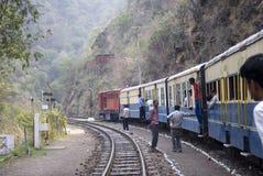 De smalle spoorweg van de Maat Stock Foto's