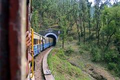De smalle spoorweg van de Maat Royalty-vrije Stock Afbeelding