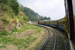 De smalle spoorweg van de Maat Stock Fotografie