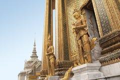 De smaragdgroene Tempel van Boedha Stock Foto's