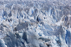 De smeltende gletsjer van Perito Moreno Royalty-vrije Stock Foto's