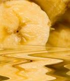 De smelting van de banaan stock afbeelding