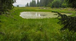 De Smolyan-meren royalty-vrije stock foto's