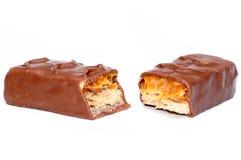De Snack van de chocolade Stock Foto