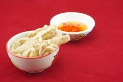 De snack van de Shiitakepaddestoel in kop Royalty-vrije Stock Foto's