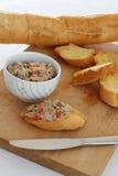 De Snack van de tonijn Royalty-vrije Stock Foto