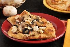 De snack van het Naanbrood Stock Foto's