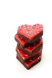De snackcakes van het hart Royalty-vrije Stock Fotografie