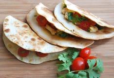De snacks hoogste mening van tortilla's Stock Foto
