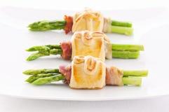De snacks van de asperge Stock Foto's