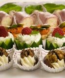 De snacks van de partij Royalty-vrije Stock Fotografie